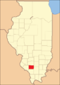 Perry County at the time of its creation in 1827