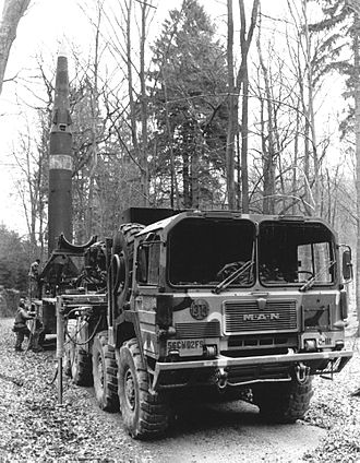 56th Field Artillery Command - Pershing II of 2nd Battalion, 9th Field Artillery