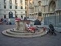 Persone accampate Piazzetta dei Leoncini Basilica di San Marco Venezia.jpg
