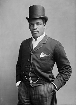 Peter Jackson (boxer) - Peter Jackson in 1889