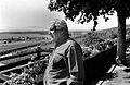 Peter Ustinov (1992) by Erling Mandelmann.jpg