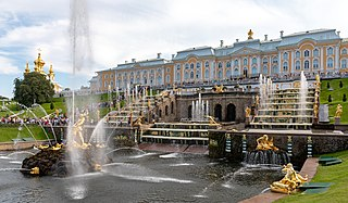 Peterhof Palace palace in Russia