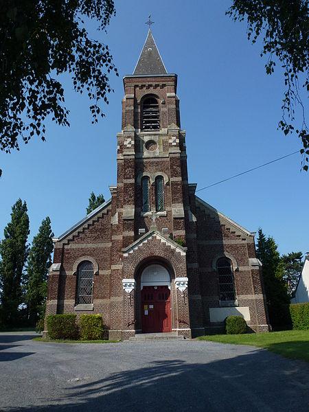 Petite-Forêt (Nord, Fr) église