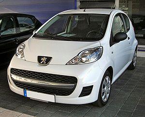 Peugeot 107 - 2009 Peugeot 107 facelift