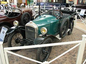 Peugeot Quadrilette - Image: Peugeot Type 172 05