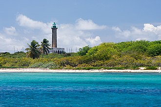 Petite Terre Islands - Petite Terre Lighthouse in 2010