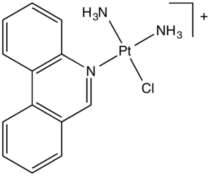 Platinum-based antineoplastic - Image: Phenanthriplatin