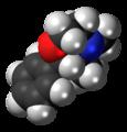 Phendimetrazine molecule spacefill.png
