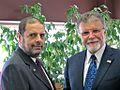 Phil Chicola with Yukon Premier Dennis Fentie.jpg