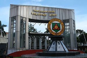 Lawton Avenue - Philippine Army Headquarters on Lawton Avenue