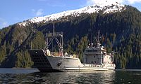 Photo of USAV Malvern Hill on temporary duty in Alaska during USAR summer training 2012.jpg
