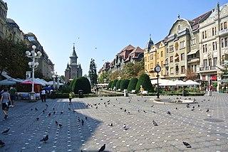 Timișoara Municipality and county seat in West, Romania