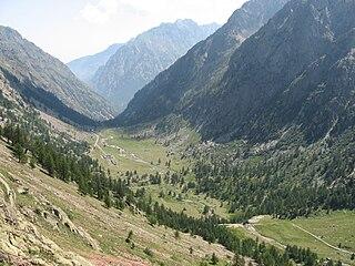 Valle Gesso valley