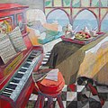 Piano rojo, 80x80cms.jpg