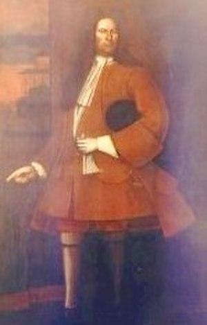 Pieter Schuyler - Painting of Schuyler from between 1710 and 1718
