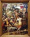 Pieter pietersz, i tre ebrei condotti alla fornace da nabucodonosor, 1575, 01.jpg