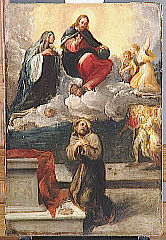 Christ and the Virgin Appearing to St. Francis of Assisi