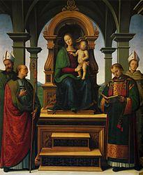 Pietro Perugino: Decemviri Altarpiece
