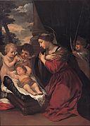 Pietro da Cortona - Madonna with the Child and angels - Google Art Project.jpg