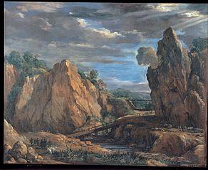 The allume mines of Tolfa