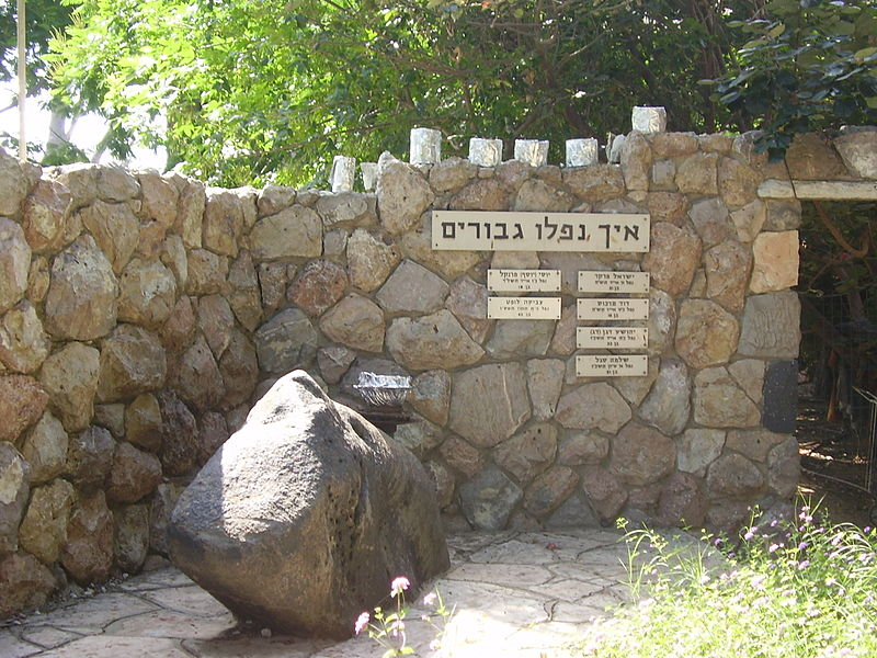 אנדרטה לנופלים במערכות ישראל בחוגלה