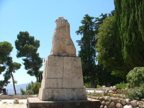 PikiWiki Israel 224 Tel Hai Lion Sculpture פסל הארי השואג בתל חי