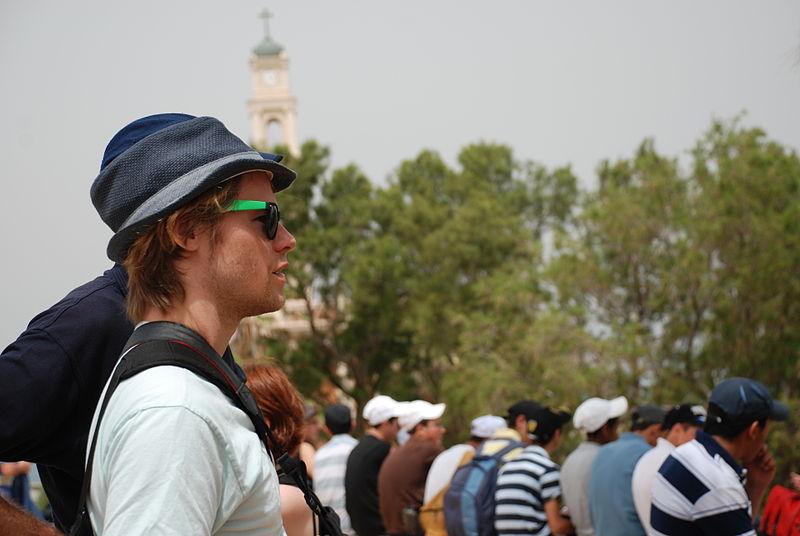 Randy Harrison visit israel