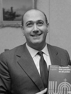Pinchas Lapide Israeli academic and diplomat