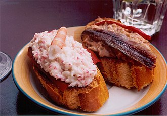 Basque cuisine - The traditional pintxos