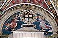 Pinturicchio e aiuti, angeli reggono lo stemma piccolomini, 1502-1507, 02.JPG