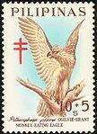 Pithecophaga jefferyi 1967 stamp of the Philippines.jpg
