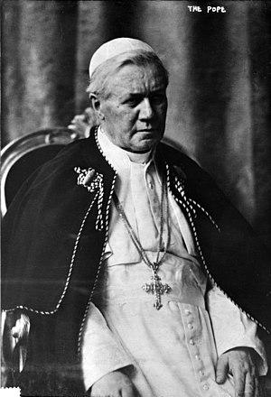 Papal conclave, 1903 - Image: Pius X, Bain