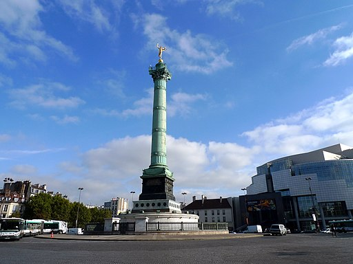Place de la Bastille, Paris October 2010