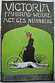 Plakat - Victoria Fahrradwerke - Nürnberg - um 1910.jpg