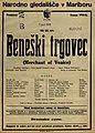 Plakat za predstavo Beneški trgovec v Narodnem gledališču v Mariboru 7. aprila 1926.jpg