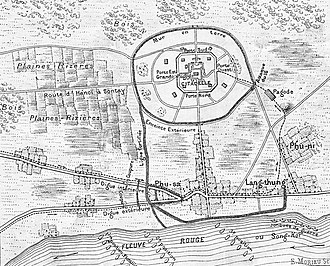 Sơn Tây Campaign - Image: Plan de Son Tay