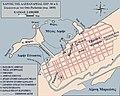 Plan of Alexandria c 30 BC Otto Puchstein 1890s Greek 2.jpg