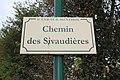 Plaque chemin Sivaudières St Cyr Menthon 3.jpg