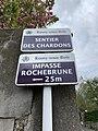 Plaques Sentier Chardons & Impasse Rochebrune - Rosny-sous-Bois (FR93) - 2021-04-16 - 1.jpg