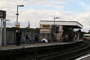 Lewisham station - Platform 1, Lewisham station - geograph.org.uk - 229248