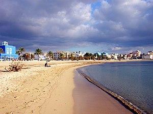 Platja de ciutat jard viquip dia l 39 enciclop dia lliure for Playa ciudad jardin
