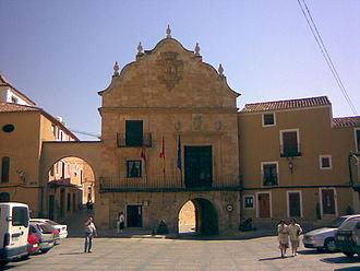 Chinchilla de Montearagón - Image: Plaza Chinchilla de Monte Aragón