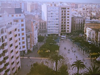 Alzira, Valencia - Image: Plazamayoralzira 001