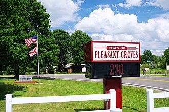 Pleasant Groves, Alabama - Pleasant Groves