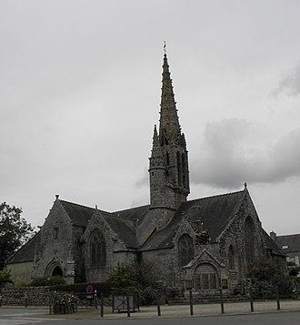 Pluguffan - The church of Saint-Cuffan, in Pluguffan