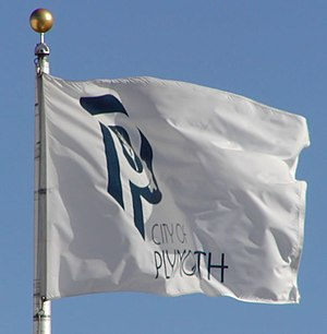 Plymouth, Minnesota - Image: Plymouthflag