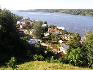 Plyos, Ivanovo Oblast - View of Plyos