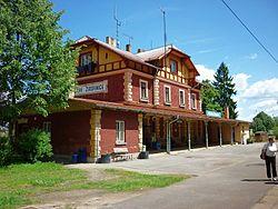 Počátky-Žirovnice - železniční stanice 05.jpg
