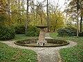 Podzamecka zahrada Kromeriz - Rimska fontana.JPG