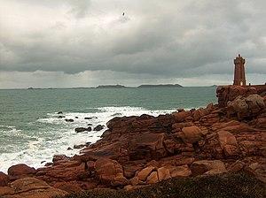 Jentilez - Sept Îles, seen from Ploumanac'h.